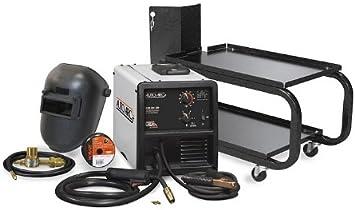 Hobart 500550 Auto Arc 130 Wire Feed Mig Welding Kit Mig Welding Equipment Amazon Com