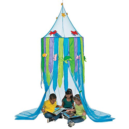 Fun Express Under The Sea! Ocean Hideaway Canopy Tent (10 feet Tall)