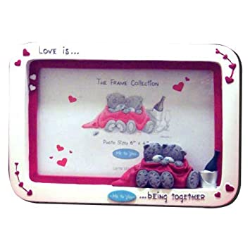 ME TO YOU ~ LOVE IS...BEING TOGETHER ~ PHOTO FRAME: Amazon.co.uk ...