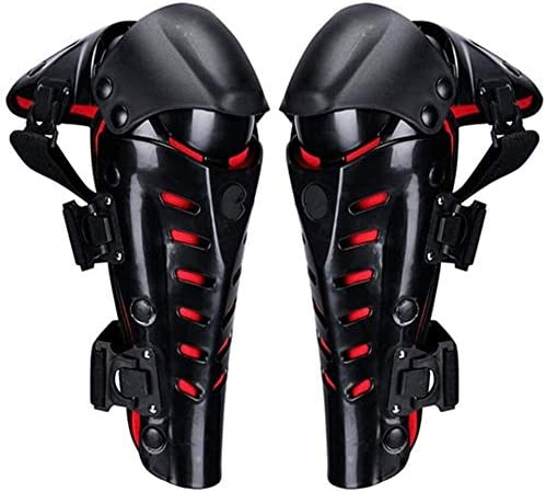 KDKDA Protective Knee Pads Anti-Slip Collision Avoidance Knee Sleeve Motorcycle Knee Pads Motorcycle Stainless Steel Knee Protection Guard Body Armor for Mountain Bike Skateboarding
