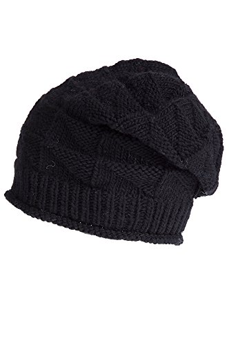 wave-merino-wool-beanie-slouch-hat-black-size-1-size