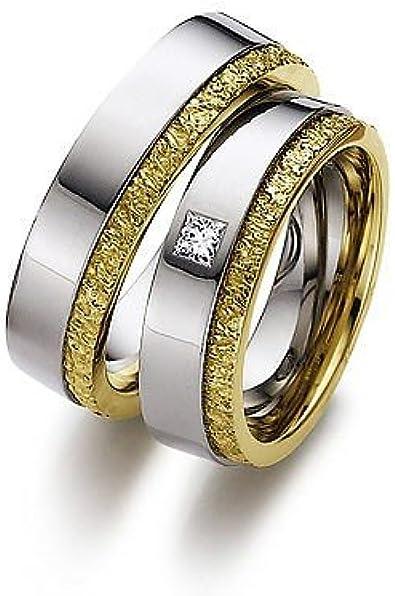 Anillos de bodas anillos de bodas/oro blanco/oro amarillo ...