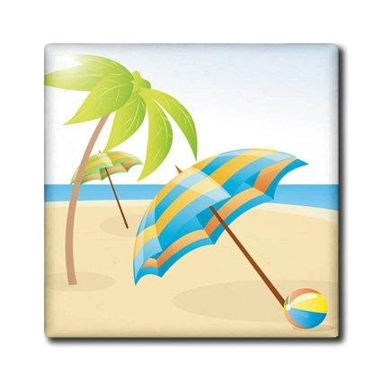 3drose Ct 180647 2 Imagen De Dibujos Animados Playa Paraguas