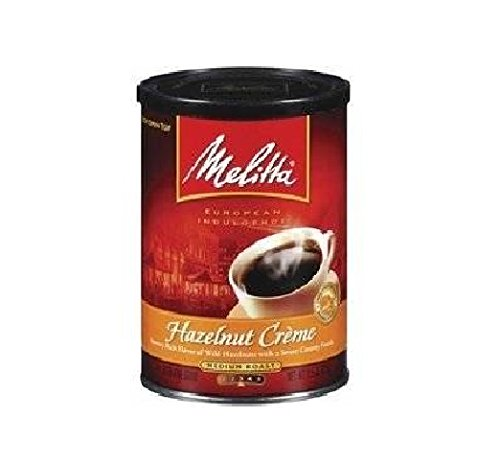 Melitta 60256 11 Oz Hazelnut Creme Medium Roast Coffee ()