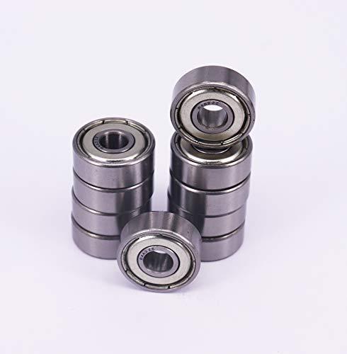 4x R4A-ZZ Ball Bearing 0.75in x 0.25in x 0.2812in ZZ 2Z Free Shipping NEW Metal