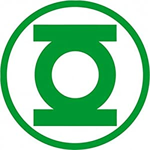 Amazon.com: Green Lantern - Logo - Decal: Automotive