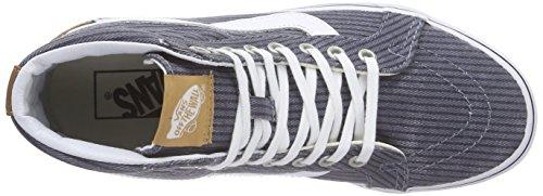 Vans - Classic Slip-on, Zapatillas Unisex adulto Gris (washed Herringbone Pack/folkstone Gray)