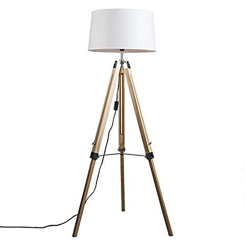 QAZQA Design / Industriel / Rétro / Lampadaire / Lampe de sol ...