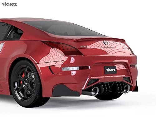 - Vicrez Amuse Rear Diffuser LV Style vz101062 for Nissan 350z/ 370z