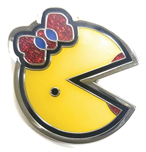 Rare Ms. Pac-Man Ultra Premium Enamel Pin