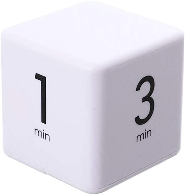 Moontie The Miracle TimeCube Timer, 1, 3, 5 and 10 Minutes for Time Management