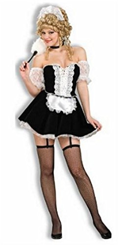 French Maid Deluxe Costume