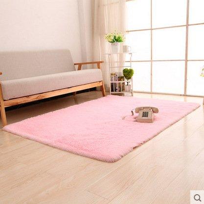 Waschbar Super Soft Silky Haar Teppich Nachttisch Piaoya Tür Matten, 9, 80  200 B06XTHKS9G Duschmatten