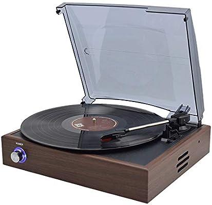 Zhengtuu CD Bluetooth Decoraciones Vinil Tocadiscos Retro Modernos ...