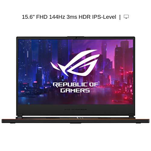"HIDevolution ASUS ROG Zephyrus S GX531GX 15.6"" FHD 144Hz HDR   2.6 GHz i7-9750H, RTX 2080 Max-Q, 16GB 2666MHz RAM, 1TB PCIe SSD   Authorized Performance Upgrades & Warranty"