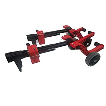 Image of Caliber 13576 Sled Universal Ski Wheel Transport Kit Dollies