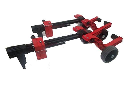 Caliber 13576 Sled Universal Ski Wheel Transport Kit ()
