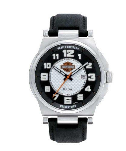 Harley-Davidson Men's Bulova Watch 76B156
