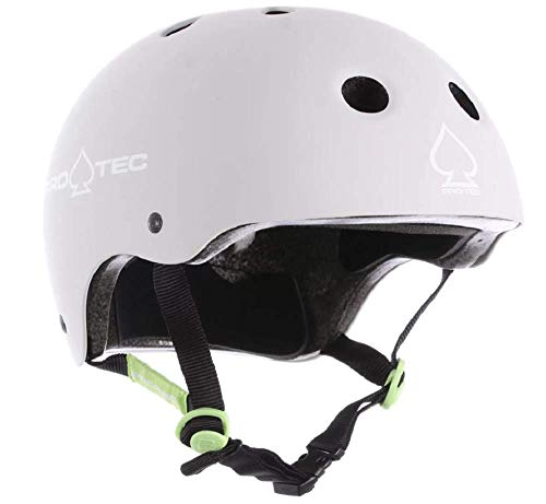 Pro-Tec Classic Skate Helmet (Matte Light Gray, ()