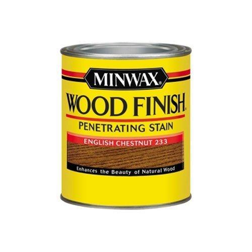 Minwax 70044 1 Quart Wood Finish Interior Wood Stain, English Chestnut by Minwax