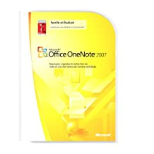 Microsoft OneNote Home and Student 2007  French (vf)