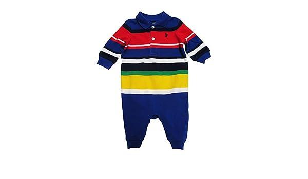 Ralph Lauren - Pelele - para bebé niño azul oscuro 62 cm: Amazon.es: Ropa y accesorios