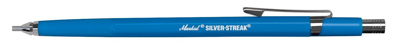 Markal 96006/silver-streak evidenziatore per metallo con mina argento rotondo