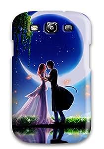 For Galaxy S3 Fashion Design Animated Boy And Girl Romantic Couple Case-mldnWsJ16092rBynC
