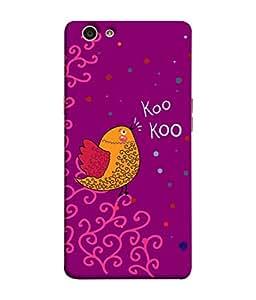 ColorKing OPPO F1S Case Shell Cover - Bird Kookoo Multi Color