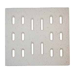 Ceramic Ceramic Radiant Replacement for Select Sams Gas Grill Models, Set of 6