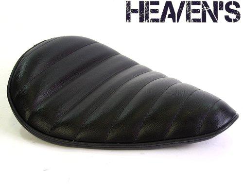 HEAVEN'S(ヘブンズ)バイク シート ソロシート 汎用シートデラックスワイド タックロール ブ   B00IN19EWS
