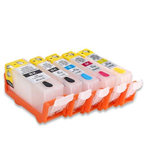 HEMEINY PGI-225 CLI-226 Empty Refillable Ink Cartridge For iP4820 MG5220 MG5120 MG5320 IP4920 MX892 IX6520 printer 5pcs