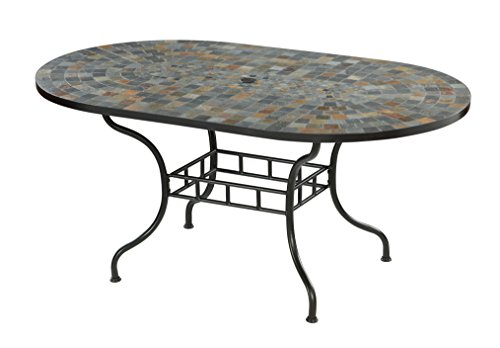 Stone Harbor Black Dining Table by Home Styles