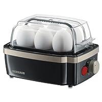 Severin Titanium Electronic Egg Boiler, Black