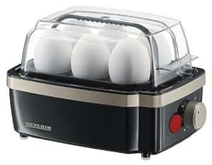 Severin 3157 - Nuevo Cuece Huevos Negro Titán