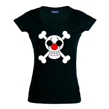 "Camiseta One Piece ""Buggy"" manga corta Chica (Talla: M Chica manga"