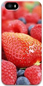 For HTC One M7 Phone Case Cover 3D For HTC One M7 Phone Case Cover Hard Shell Cover Skin Cases Fresh Strawberries