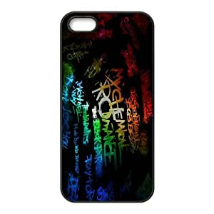 iStyle Zone Snap-on TPU Rubber Coated Case Compatible with iPhone 5 / 5S Cover [MCR My Chemical Romance]