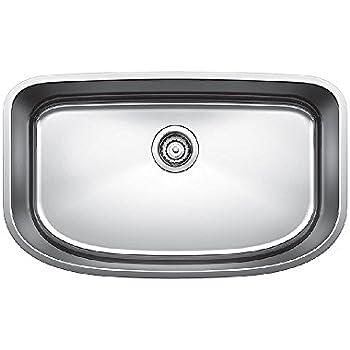 Blanco 440104 Performa Super Single Bowl Undermount Kitchen Sink ...