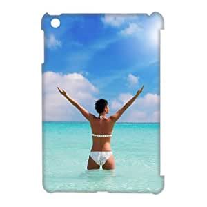 lintao diy 3D Case Of Bikini 3D Bumper Plastic Customized Case For iPad Mini