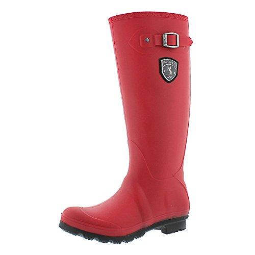 Kamik Women's Jennifer Rain Boot, Dark Red, 8 M US