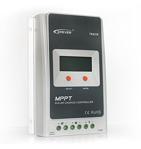 GED 10A 12V/24V DC MPPT Solar Charge Controller Tracer A 1210A by Green Energy Direct