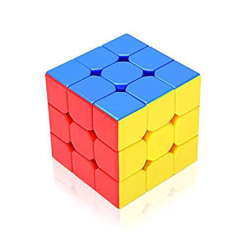 EnacFire-Cubo-Mgico-plstico-Ecolgico-de-velocidad-Colores-Super-durables-y-vvidos-Stickerless-Cubo-Phoenix