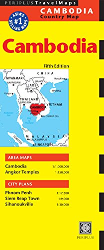 Cambodia Travel Map Fifth Edition...