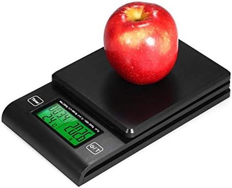 Bilance Bilancia digitale per caffè Bilancia multifunzione per alimenti con sonda di temperatura con timer Monitor Lcd 2000G / 1G Bilancia Elettronica