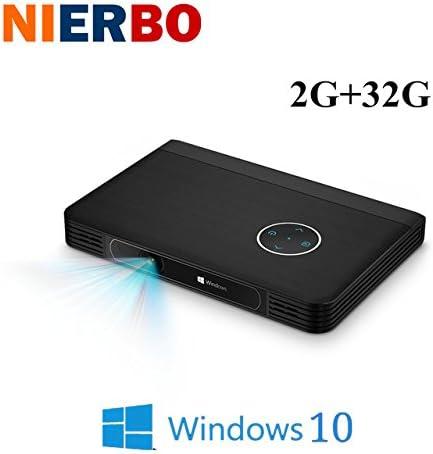Windows 10 DLP 4 K Mini proyector 2700 lumens 10000 batería ...
