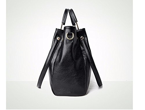 Black Lady Handbag Gwqgz New Casual awqHHF