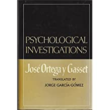 Psychological Investigations (English and Spanish Edition)