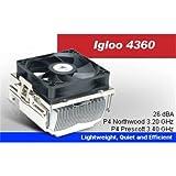 GlacialTech Igloo 4360 Plus Intel 478 Cooling Fan P4 Northwood 3.2GHz, P4 Prescott 3.4Ghz