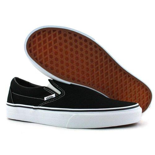 Vans  U Classic Slip-on,  Unisex-Erwachsene Sneaker Schwarz / Weiß